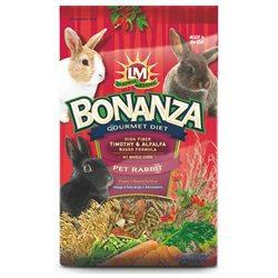 L/m Animal Farms LM Animal Farms Bonanza Gourmet Diet Rabbit Food: 4 lbs