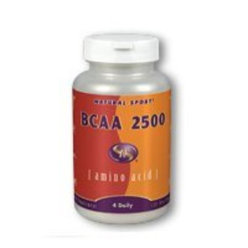 Natural Sport BCAA 2500 Veg Capsules, 2500 Mg, 120 Count