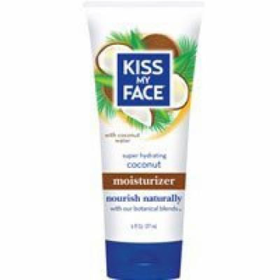 Kiss My Face Moisturizer 6oz Tube Coconut (2 Pack)