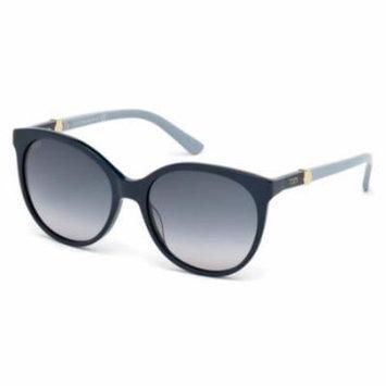 TOD'S Sunglasses TO0174 90W Shiny Blue 55MM