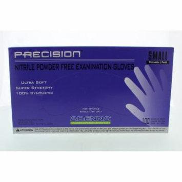 Adenna PRECISION Thin Nitrile PF, Fingertip Textured PCS772 Small