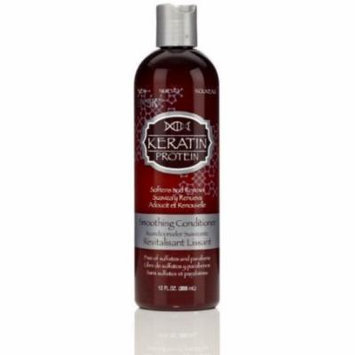 Hask Keratin Smooth Conditioner 12 oz. (Pack of 6)