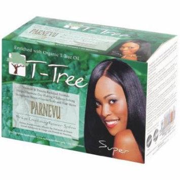Parnevu Tea Tree No-Lye Relaxer - Super Kit (Pack of 2)