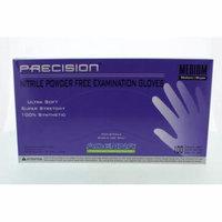 Adenna PRECISION Thin Nitrile PF, Fingertip Textured PCS775 Medium