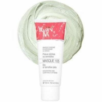 Yonka MASQUE 105 - Oxygenating and Clarifying Clay Mask for Dry or Sensitive Skin (3.6 oz)