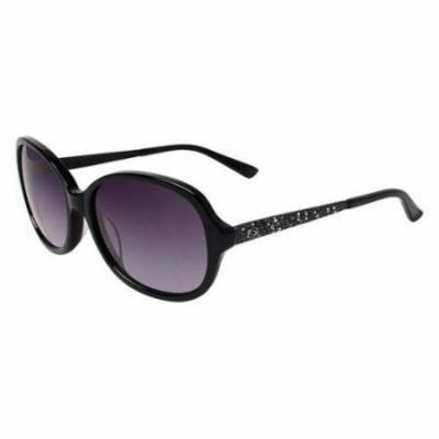 BEBE Sunglasses BB7101 001 Jet 57MM