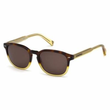 ERMENEGILDO ZEGNA Sunglasses EZ0005 56J Havana 52MM
