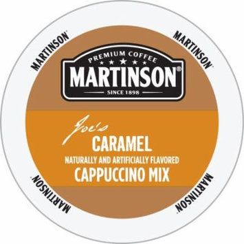 Martinson Cappuccino/Latte Caramel Cappuccino, RealCup Portion Pack For Keurig Brewers, 144 Count