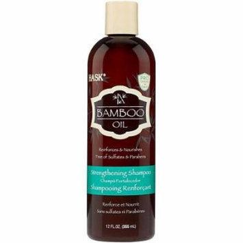 Hask Bamboo Oil Strengthening Shampoo 12 oz. (Pack of 2)