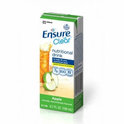 Ensure® Clear Apple Institutional Nutritional Drink