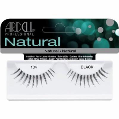 Ardell Fashion Lashes False Eyelashes - #104 Black (Pack of 4)