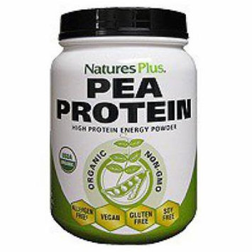 Pea Protein Organic Nature's Plus 1.1 lb Powder