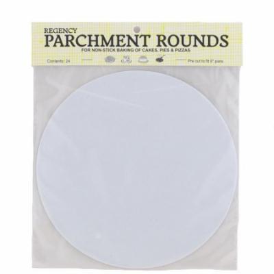 Regency RW1109 Parchment Rounds, 9