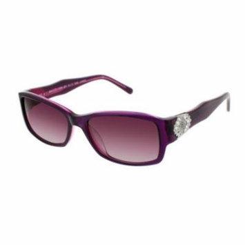 JESSICA MCCLINTOCK Sunglasses 575 Berry Laminate 57MM