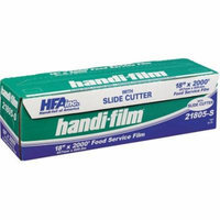 Handi-Foil of America Handi-Film Standard Clear Cling Film with Slide Cutter, 2000 ft