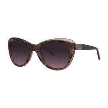 VERA WANG Sunglasses V441 Wine Crunch 55MM