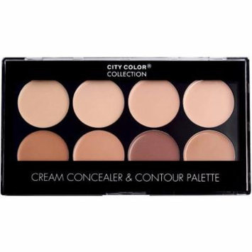 City Color Collection Photo Chic Concealer & Contour Palette