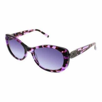 JESSICA MCCLINTOCK Sunglasses 577 Purple Multi 55MM