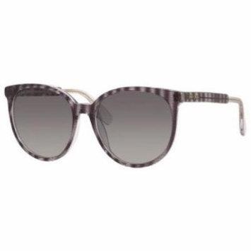 JIMMY CHOO Sunglasses REECE/S 0LWZ Zebra Glitter Black 55MM