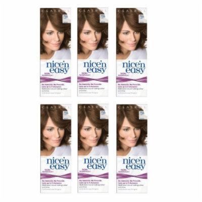 Clairol Nice N' Easy Hair Color #755, Light Brown (Pack of 6) Uk Loving Care
