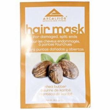 Excelsior Shea Butter Hair Mask Packette .10 oz. (Pack of 4)