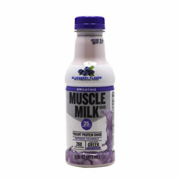 CytoSport Muscle Milk Smoothie, Blueberry, 12 Bottles