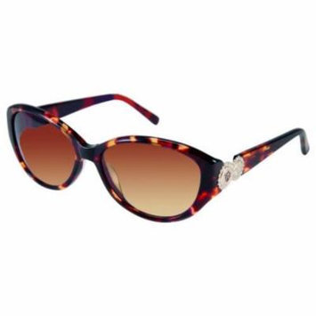 JESSICA MCCLINTOCK Sunglasses 569 Tortoise Amber 56MM