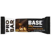 Pro Bar Protein Bar, Peanut Butter Chocolate, 2.46 OZ (Pack of 12)