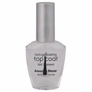 Amazing Shine Nail Treatment Top Coat .45 oz. (Pack of 6)