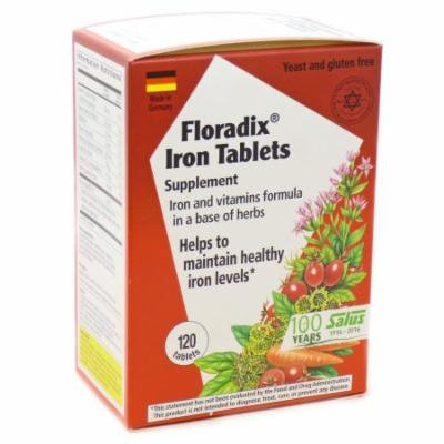 Iron Tablets by Floradix - 120 Tablets