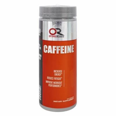 Optimal Results - Caffeine - 100 Tablets