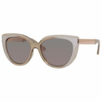 JIMMY CHOO Sunglasses CINDY/S 01RX Transparent Dove Gray 57MM