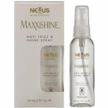 Nexxus Maxxishine Anti Frizz & Shine Spray 2 oz. (Pack of 4)