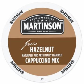 Martinson Cappuccino/Latte Hazelnut Cappuccino, RealCup Portion Pack For Keurig Brewers, 96 Count