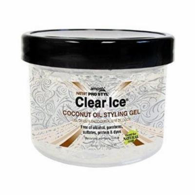 Ampro Clear Ice Coconut Oil Styling Gel 32 oz. (Pack of 4)