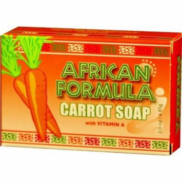 African Formula Carrot Soap 3 oz. (Pack of 6)