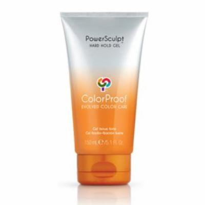 ColorProof Power Sculpt Hard Hold Gel 5.1 OZ (150 ML)