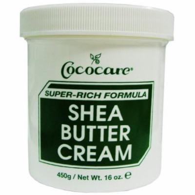 Cococare Shea Butter Cream 15 oz. (Pack of 6)