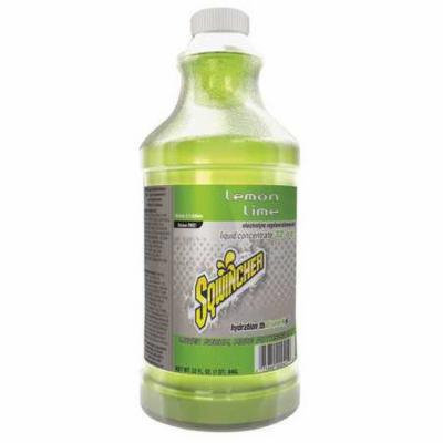 SQWINCHER 020224-LL Drink Mix,2-1/2 gal.,Lemon-Lime,PK12 G4050971