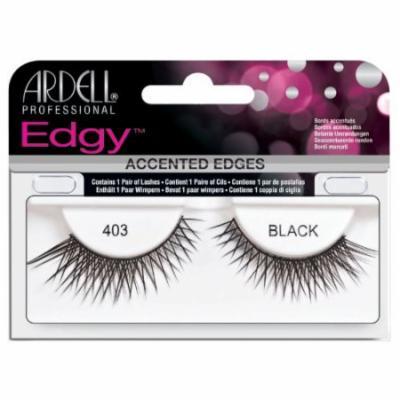 Ardell Edgy Lash False Eyelashes - #403 Black (Pack of 4)