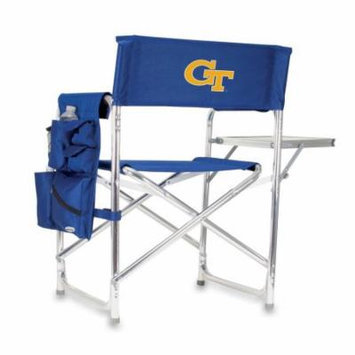Georgia Tech GT Folding Camping Chair With Side Table