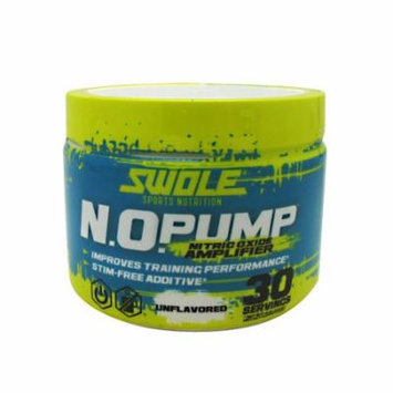 Swole N.O. Pump, Unflavored, 30 servings