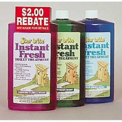 Star Brite Instant Fresh toilet Treatment - Pine Forest 32 oz 71734