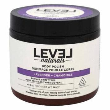 Level Naturals - Body Polish Lavender + Chamomile - 16 oz.