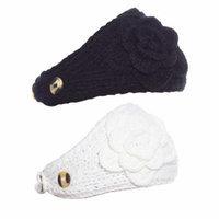 Greatlookz Polar Primrose Knit Headband with Sequin Flower for Girls