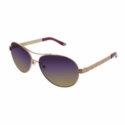 BCBGMAXAZRIA Sunglasses INFLUENCE Rose Gold 59MM