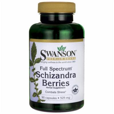 Swanson Full Spectrum Schizandra Berries 525 mg 90 Caps