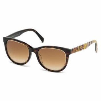 EMILIO PUCCI Sunglasses EP0027 56F Havana 53MM