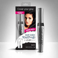 Cover Your Gray Waterproof Root Color Touch up - Black (Pack of 3)