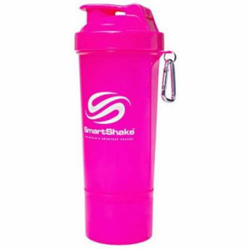 Smart Shake Shaker Cup, Neon Pink, 17 OZ